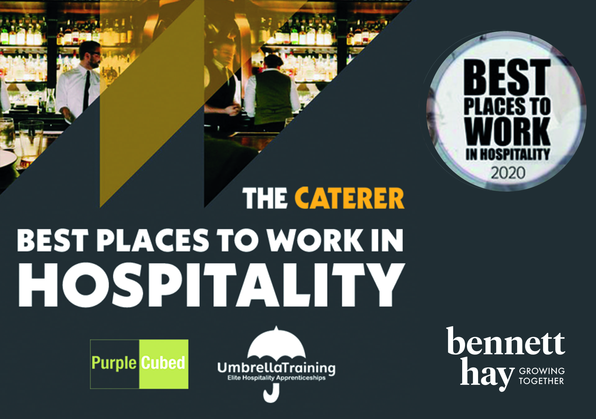 The Caterer's Best Places to Work in Hospitality 2020
